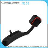 Bluetooth sans fil noir à conduction osseuse des écouteurs de téléphone mobile