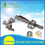 Оптовые изготовленный на заказ металл способа/латунь/эмаль/серебряные Cufflinks и Pin связи установленный для рубашек людей