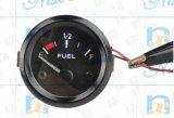 자동 전시 까만 배경의 E-F 연료계