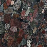 La pietra per lastricati del granito del giardino con fiammeggiato/smerigliatrice i rivestimenti per il pavimento/pavimentazione