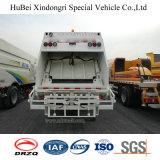 6-8cm Sinotruk HOWO Euro 4 Camion compacteur de livraison d'ordures avec moteur d'homme