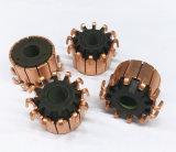 Conmutador de cobre de plata aplicado con brocha segmento de la aduana 12 del OEM para el motor eléctrico de la C.C.