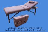 Vector del masaje de la madera con el respaldo ajustable Mt-009-2h