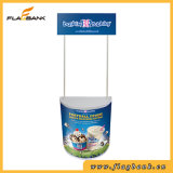 Publicidade ABS Portable Promotion Counter Display, Pop up Counter