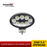 5.5 Inch Oval 24W Auto Offroad LED Work Light