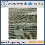 Griglie galvanizzate dell'acciaio per il pavimento della piattaforma della struttura d'acciaio