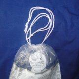 Sac en plastique imprimé avec corde à queue