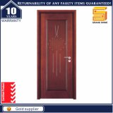 Modern Interior Composite Solid Wood Veneer Design de porta de painel de madeira