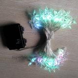 Chaîne de doux décoratifs Noël romantique feux à LED avec ligne souple