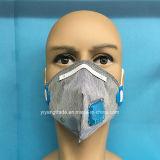 Активированный уголь в сложенном виде Securiy маска с клапаном
