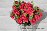 Handgemachte künstliche Hydrangea-Blumen für vollständige Jahr-Dekoration