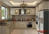 Holistic Kitchen Furniture Design Gabinete de cozinha em madeira de teca sólida (GSP5-048)