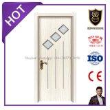 Décoration intérieure de bâtiment de la mélamine des portes en bois avec la CE et certificat ISO