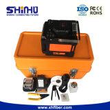 Shinho X86 4 Bewegungsautomatisches verbindenes und erhitzendes aus optischen Fasern Fusion Filmklebepresse