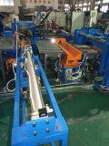 Parte inferior sem emenda do tanque de oxigênio fechada dando forma à máquina