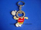 Catena chiave apri di bottiglia, anello chiave su ordinazione (GZHY-KC-0209)