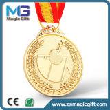 Medalha personalizada popular do fósforo de futebol 3D