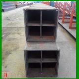 Prefabricated 용접된 구조 강철 건축재료 상자 광속