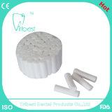 Rullo di cotone dentale altamente assorbente a gettare