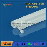 Nano 플라스틱 4FT 1200mm 18W LED 관 빛 3 년 보장 150lm/W
