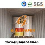 Papier autocopiant de pâte de bois de 100% en roulis en Chine