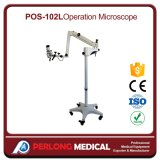 Microscópio médico móvel do funcionamento da fábrica de POS-120L China