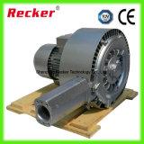 ventilador lateral do anel da bomba de ar do ventilador da canaleta 1.5kw para a fabricação de papel