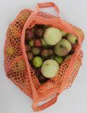 Sacchetto netto 100% della frutta del cotone di disegno del contrassegno di marchio di marca
