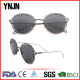 Óculos de sol reflexivos magros finos unisex da alta qualidade de Ynjn