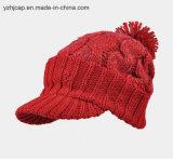 Шлем шлема Beanie POM POM связанный жаккардом