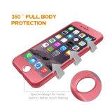 Resíduo metálico barato do produto do OEM de 360 cantos do grau quatro duramente com a caixa do telefone do PC para a tampa de Celulares do iPhone 7