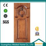 Interior de madera personalizado de la puerta de enchapado de hoteles