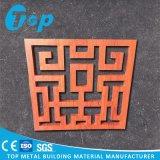 Materiais de construção para o painel decorativo do MDF do corte do laser da tela