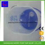 Agitador de proteína do vaso de plástico do vaso do sacudidor