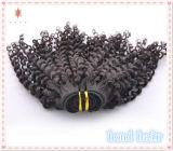 Tessitura dei capelli del Virgin riccio crespo allentato/estensione brasiliane dei capelli