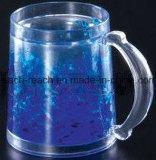 Doppel-wandiger eisiger Bier-Plastikbecher, Eis-Becher (R-7018)