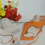 De Rang van het voedsel van Plastic Zak Furit met Ritssluiting