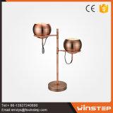 Spezielles eisen-Tisch-Lampen-Schreibtisch-Licht des Entwurfs-12W rotes Bronze