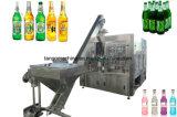 Bouchon de bouteille en verre de bière de la Couronne de remplissage de lavage plafonnement de l'unité 3 en 1 de l'équipement de la machine
