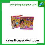 Gewöhnlicher kundenspezifischer Druckpapier-Geschenk-Kasten für das Feder-Verpacken