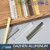 Perfil de alumínio da guarnição da telha com cor diferente