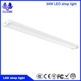Indicatore luminoso lineare dell'asse montato superficie bianca del soffitto LED di 34W 1200mm 4FT per il garage