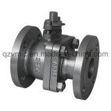 Fundición de hierro dúctil//FC200/Fcd-S de dos piezas 2-PC Puerto completo JIS 10K de válvula de bola con brida fabricante fábrica
