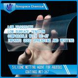 Agent de mouillage en silicone pour encre / plastique