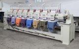 8 Jefes 12 colores Hat máquina de bordar informatizada de alta velocidad
