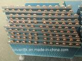 Alta calidad de L Tipo Tubo de cobre de aletas azules evaporador