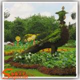 Трава Topiary Boxwood животных форменный заводов искусственная