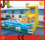 Glissière gonflable géante personnalisée à vendre