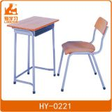金属の木の学校の机椅子の教室の家具
