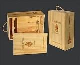 Caja de madera del vino (WA-015)
